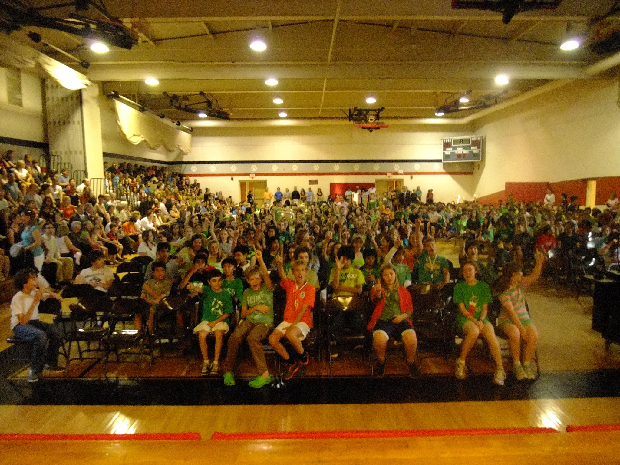 Pyle Middle Schoolers are going green one at a time