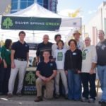 Photograph of members of SIlver Spring Green.
