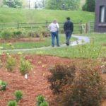 Image of St. James' Episcopal Church rain garden