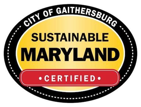Graphic of Sustainable Maryland Gaithersburg logo