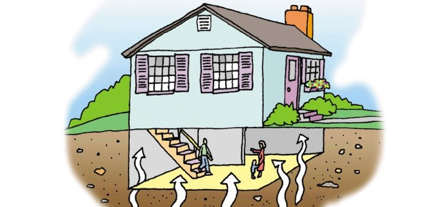 Radon gas is highest in the lower levels of your house.