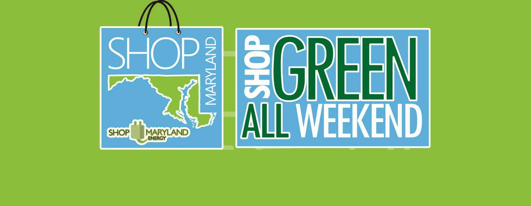 Graphic of Shop Maryland Energy Week