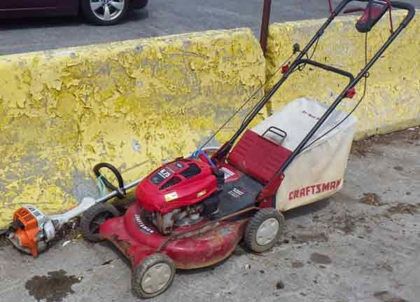 Image of a lawn mower