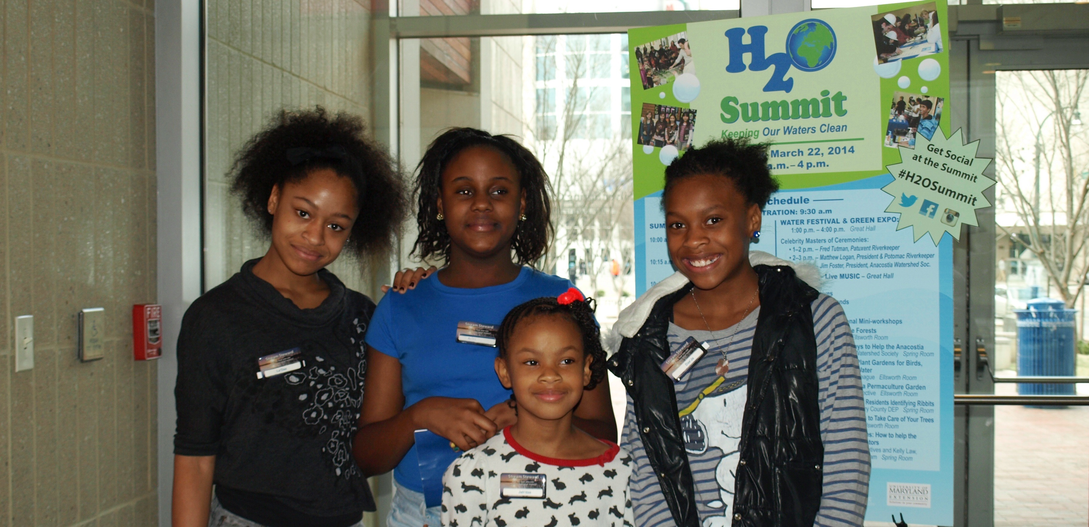 Image of volunteers from the H2O Summit