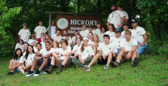 Image of participants from the Natural Resources Career Camp