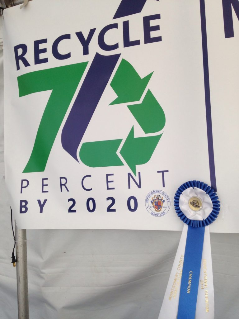 Image of Solid Waste Services County Fair Ribbon