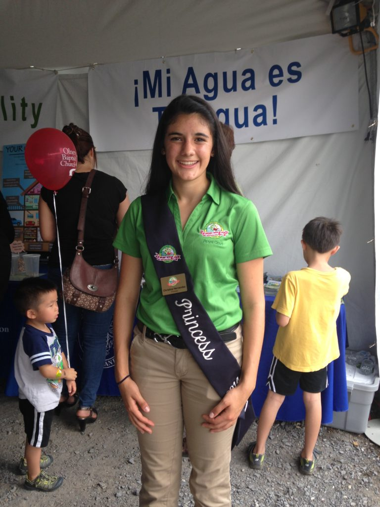 Image of the County Fair princess