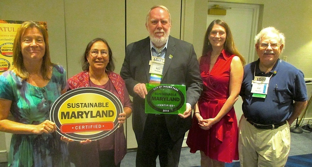 Takoma Park receives Sustainable Maryland Certified Award