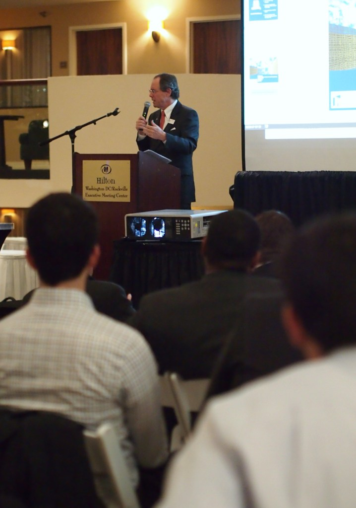 Councilmember Roger Berliner gives opening remarks
