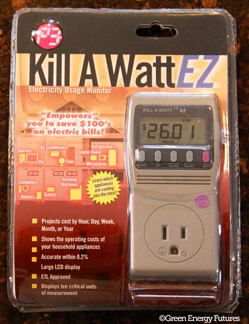 Kill a Watt EZ in packaging - picture by Green Energy Futures