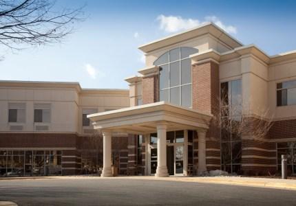 A photo of the Physical Health and Rehabilitation facility