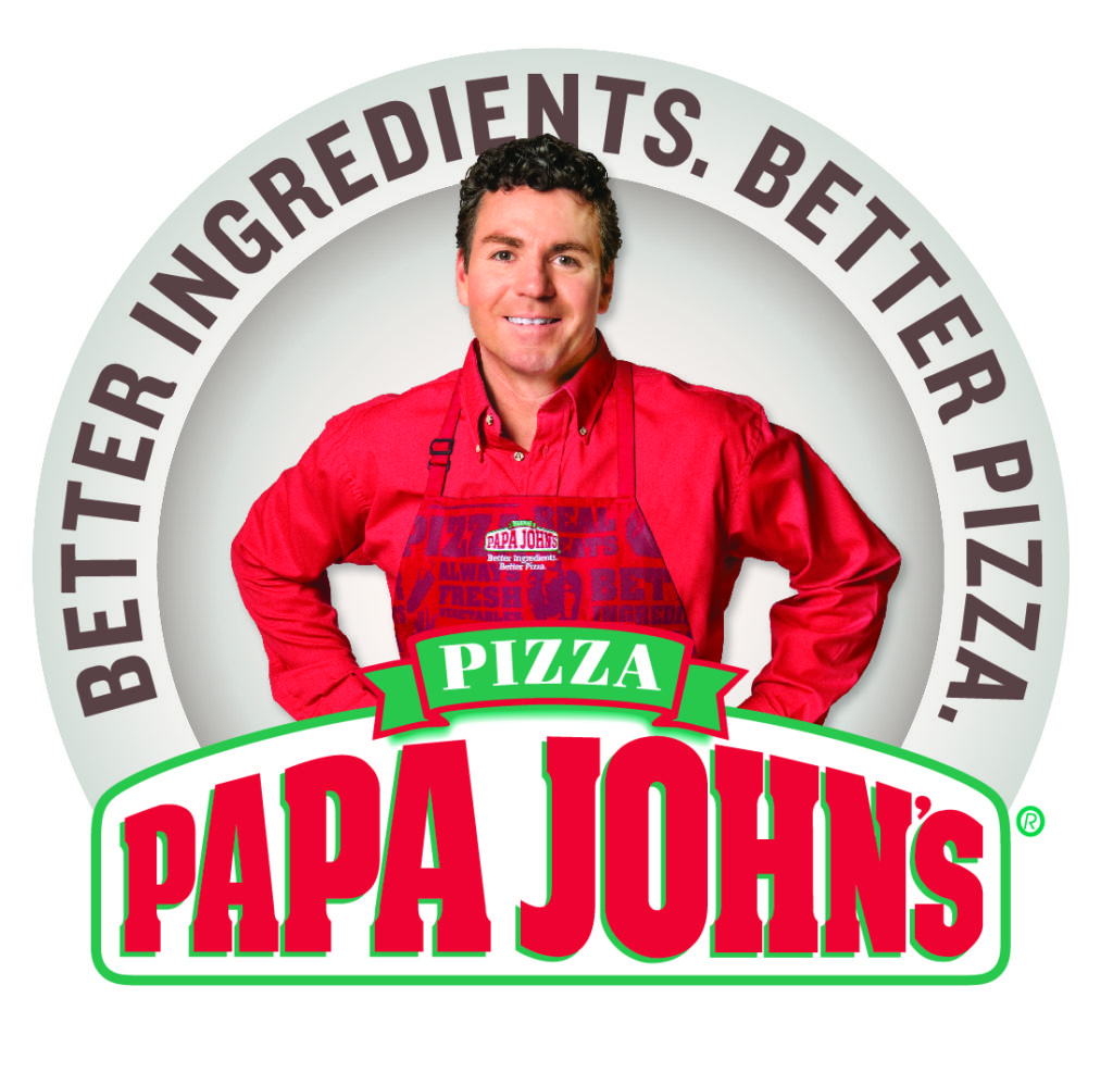 An image of the Papa John's logo