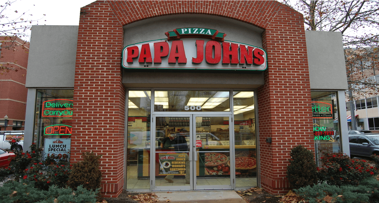 Image result for papa john's store