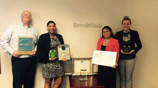 It takes a village to raise a green workplace: A Brookfield Property case study