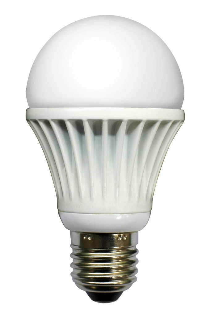 White LED Light Bulb. Image by Team EarthLED/Flickr.