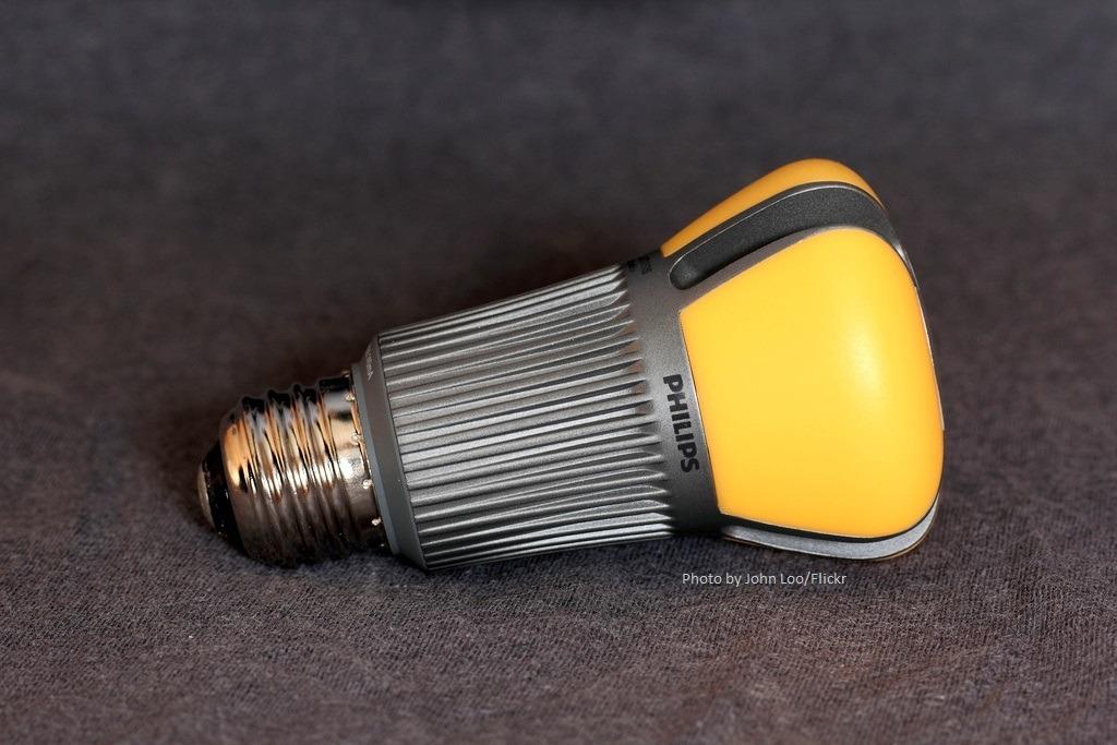LED Light Bulb, Photo by John Loo/Flickr