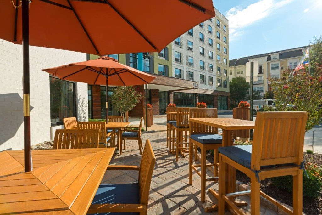 Image of the patio/outdoor area at EVEN Hotel
