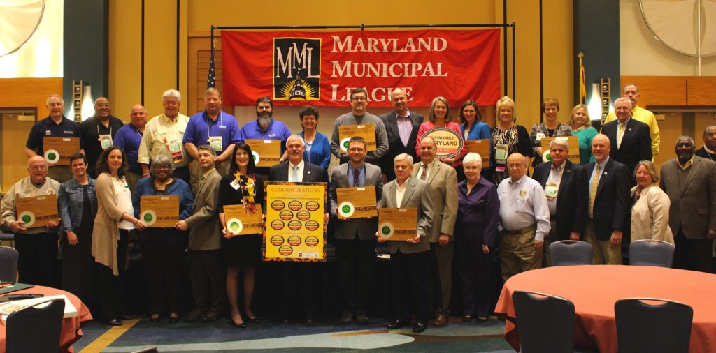 Sustainable Maryland Certified Awards 2015 Group Photo