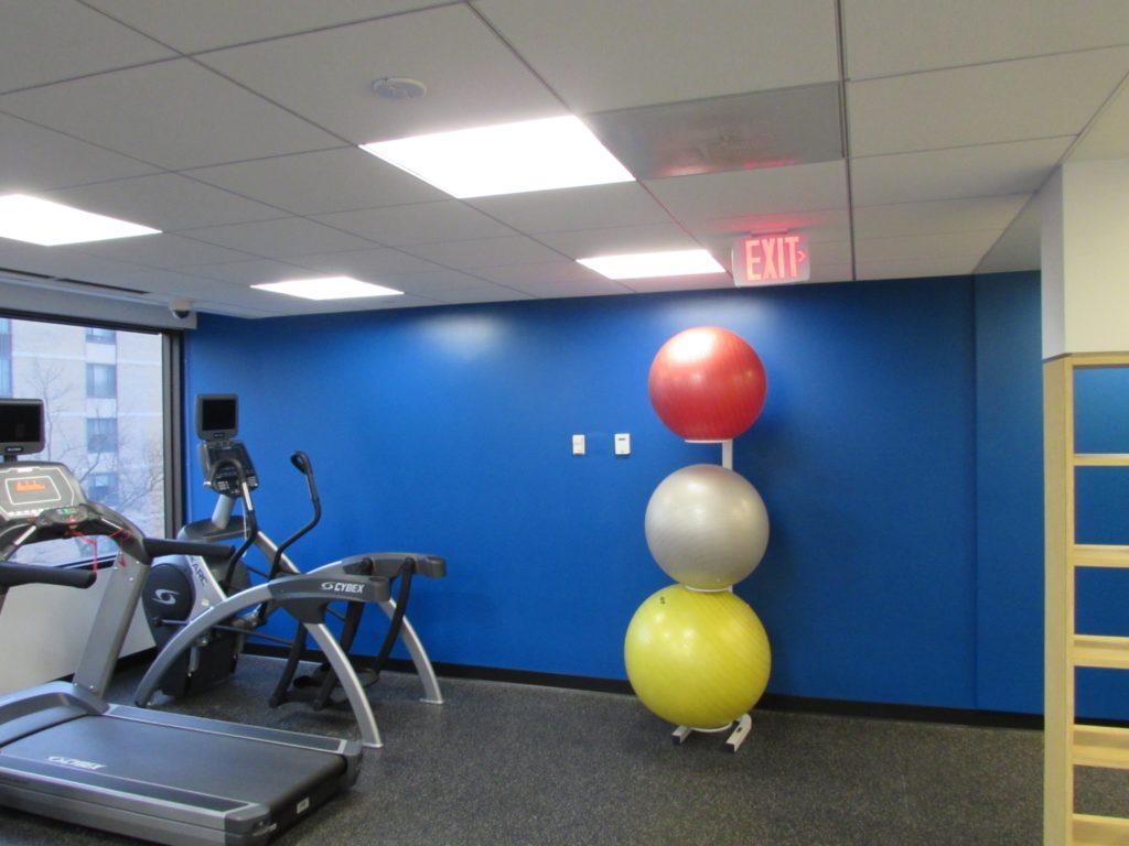 Tenant fitness room