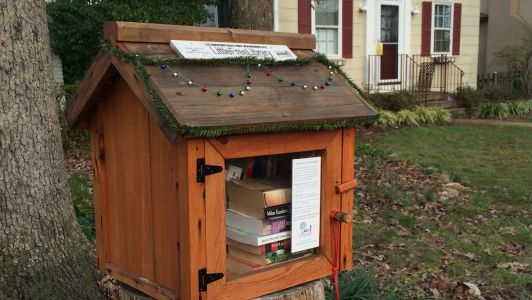 Little Free Library – in a Yard Near You!