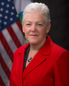 Gina McCarthy Photo by Eric Vance