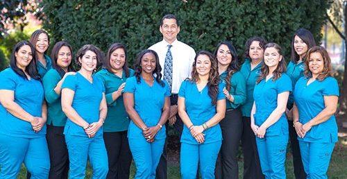 Dental staff group photo