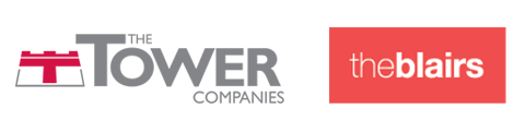Tower Companies and The Blairs logos