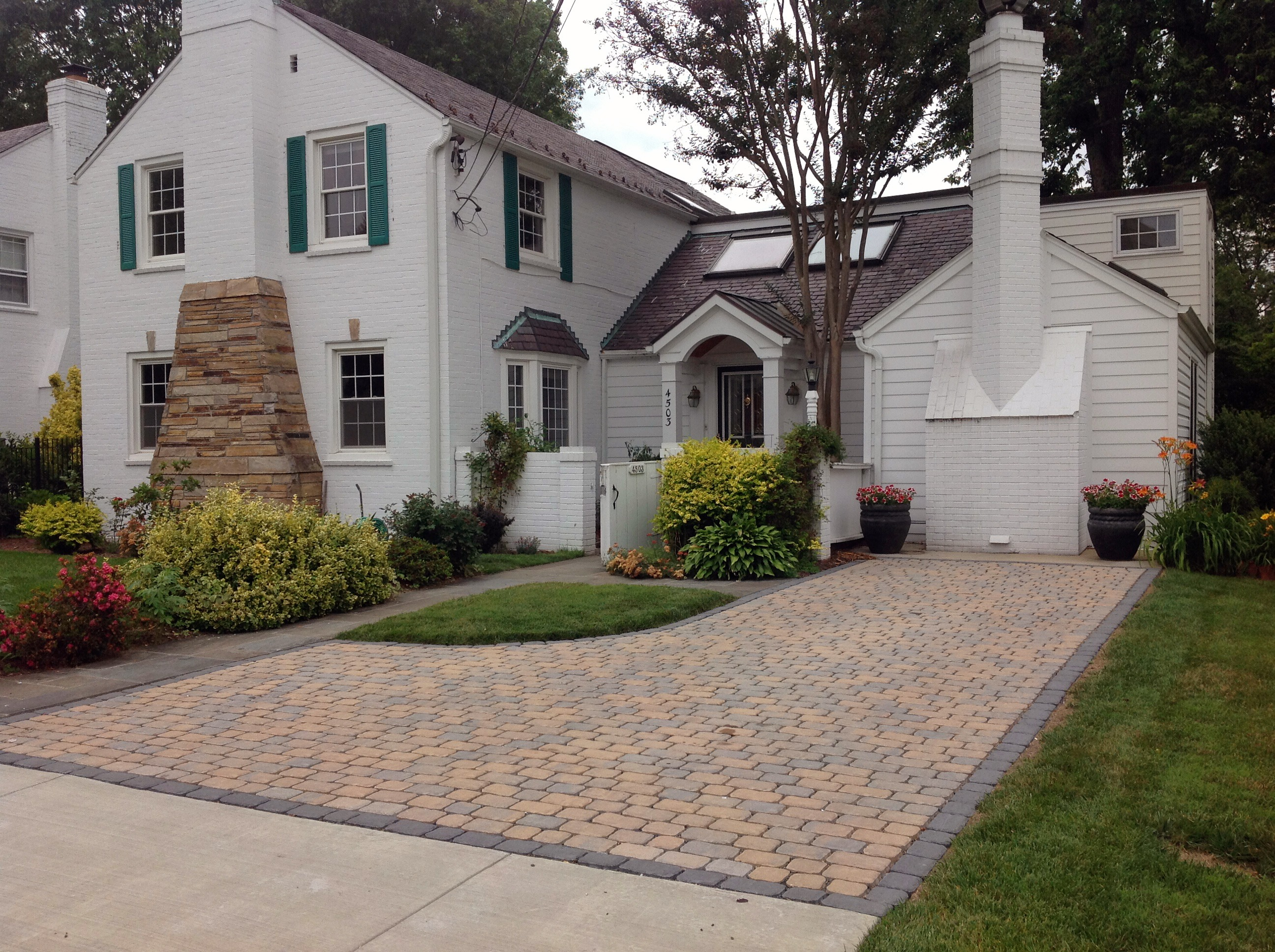 Permeable pavers curb pollution and look great too My Green