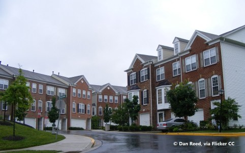 Greening townhouses with a top-down approach