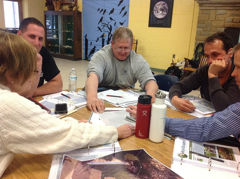 RainScapes classroom training for landscape professionals
