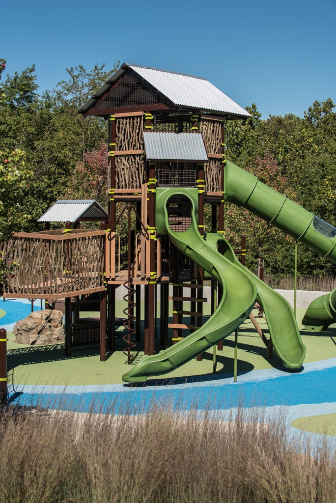 One of the playgrounds at Greenbriar Local Park