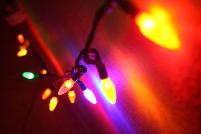 Image of LED Christmas lights