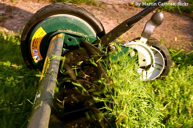 Lawn Mower by Martin Cathrae, flickr
