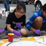 Chesapeake Bay Awareness Week Storm Drain Art
