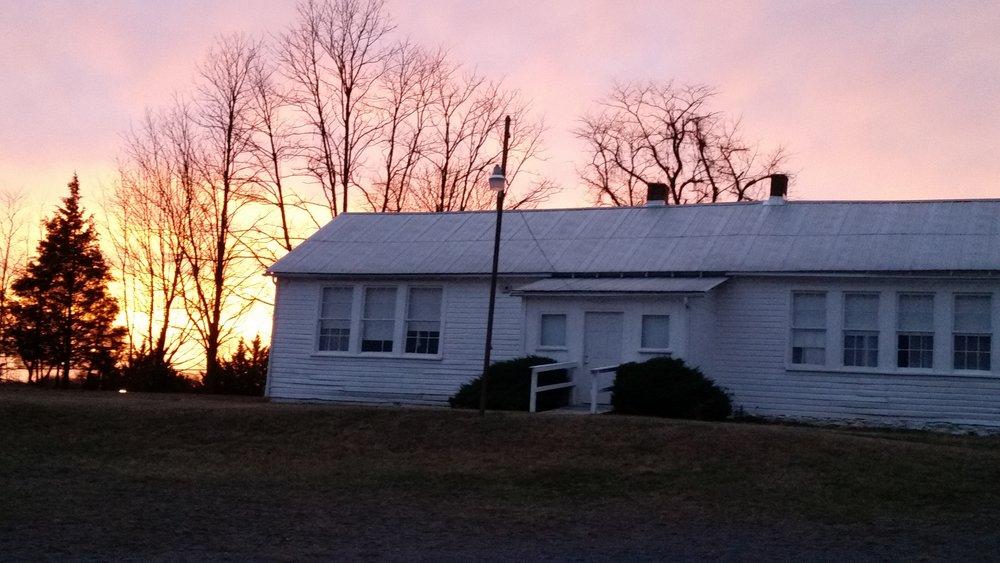Pleasant View Historic Site school house
