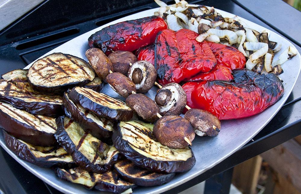 Grilled veggies by liz west flickr