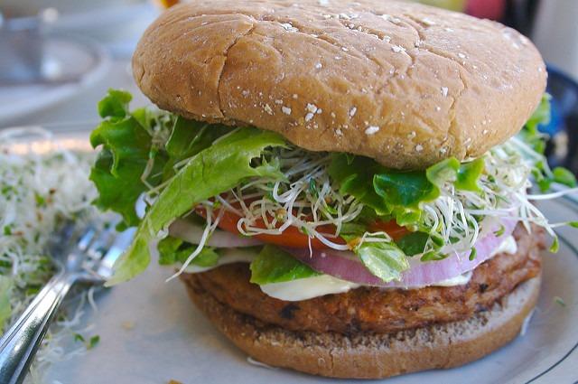 Veggie Burger by Copa41, flickr