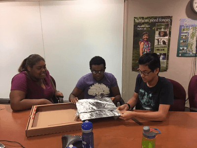 Rockville Teens become part of the NOAA Climate Stewards Community this Summer: Part One