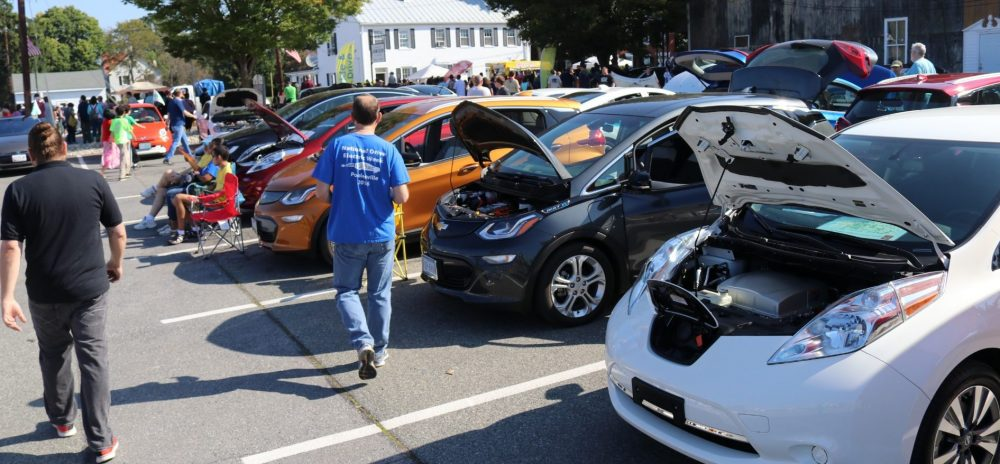 Poolesville Green's 2017 National Drive Electric Week (NDEW) Poolesville Day Electric Vehicle Show