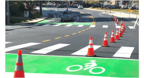 Biking in Silver Spring just got a whole lot easier
