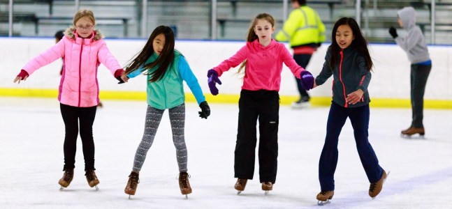 Montgomery Parks photo of ice skaters