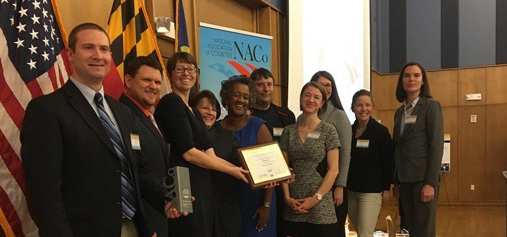 The Department of Environmental Protection won 4 NACo Awards