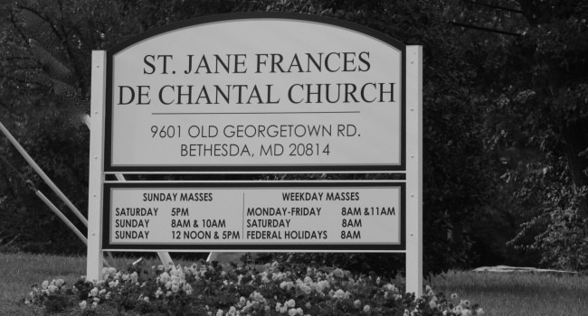 Sign of St. James Church