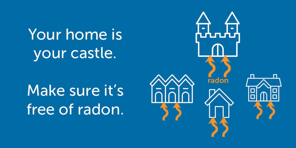 Your home is your castle. Make sure it's free of radon.