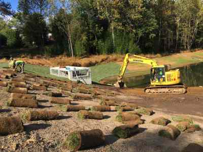 A window into the restoration of a stream and pond system: the Bedfordshire Project