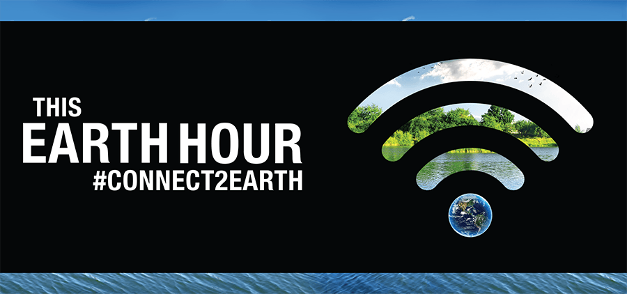 Earth Hour is March 24 from 8:30pm – 9:30pm