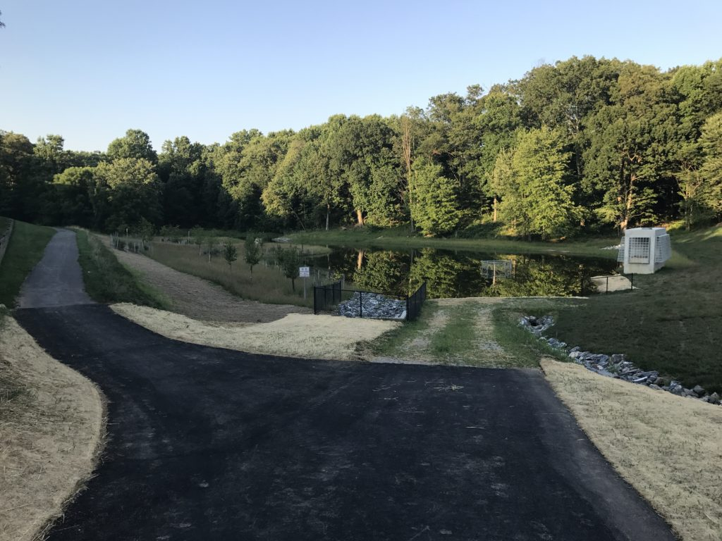 Newly Completed Pond