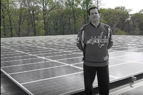 S.Schooler on Solar Panel Roof