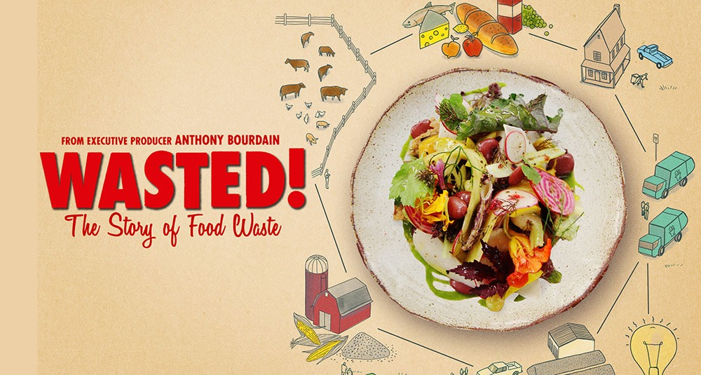 Come to a Screening of Wasted!: The Story of Food Waste