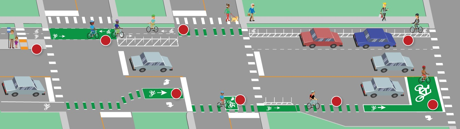 DOT launches education program on the County's pedestrian and bikeway infrastructure